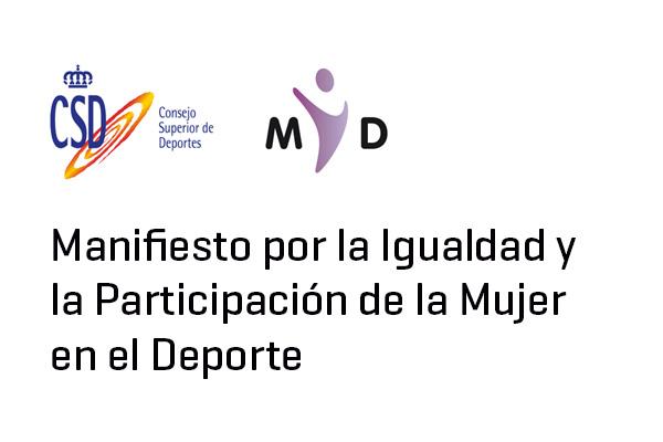 Manifiesto por la igualdad y la participación
