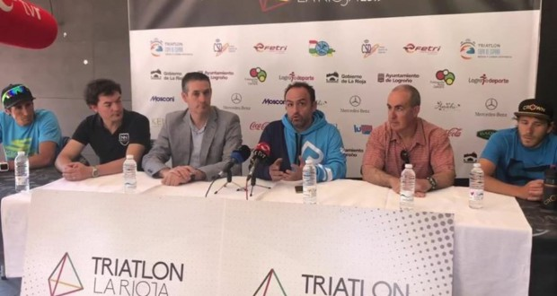 Más de 600 deportistas en el Triatlón La Rioja, Copa de España de Triatlón MD y LD 2019