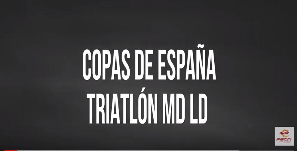 Promo // Copas de España Triatlón MD y LD 2019