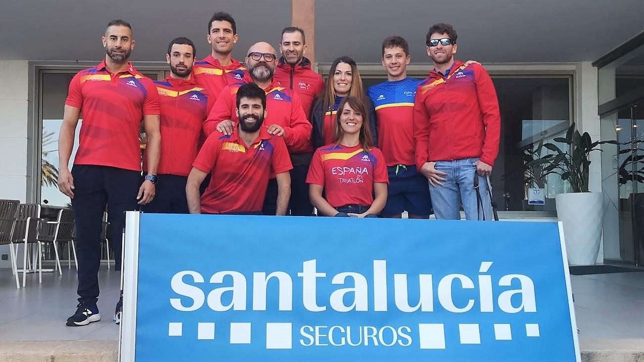 La selección española de Paratriatlón finaliza su concentración en Gandía