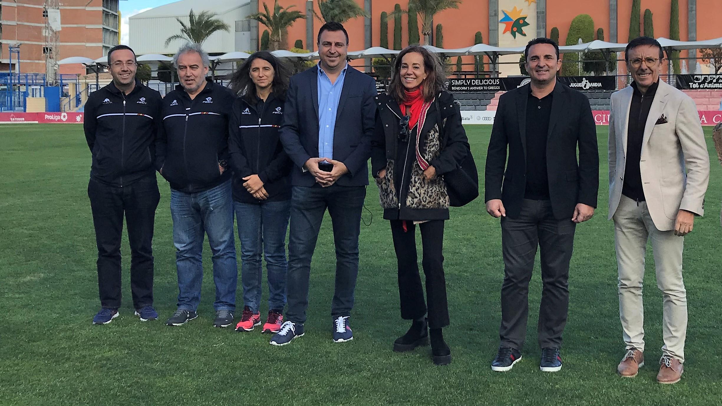 """La Federación Española de Triatlón visita La Nucía como """"sede de futuros eventos"""""""