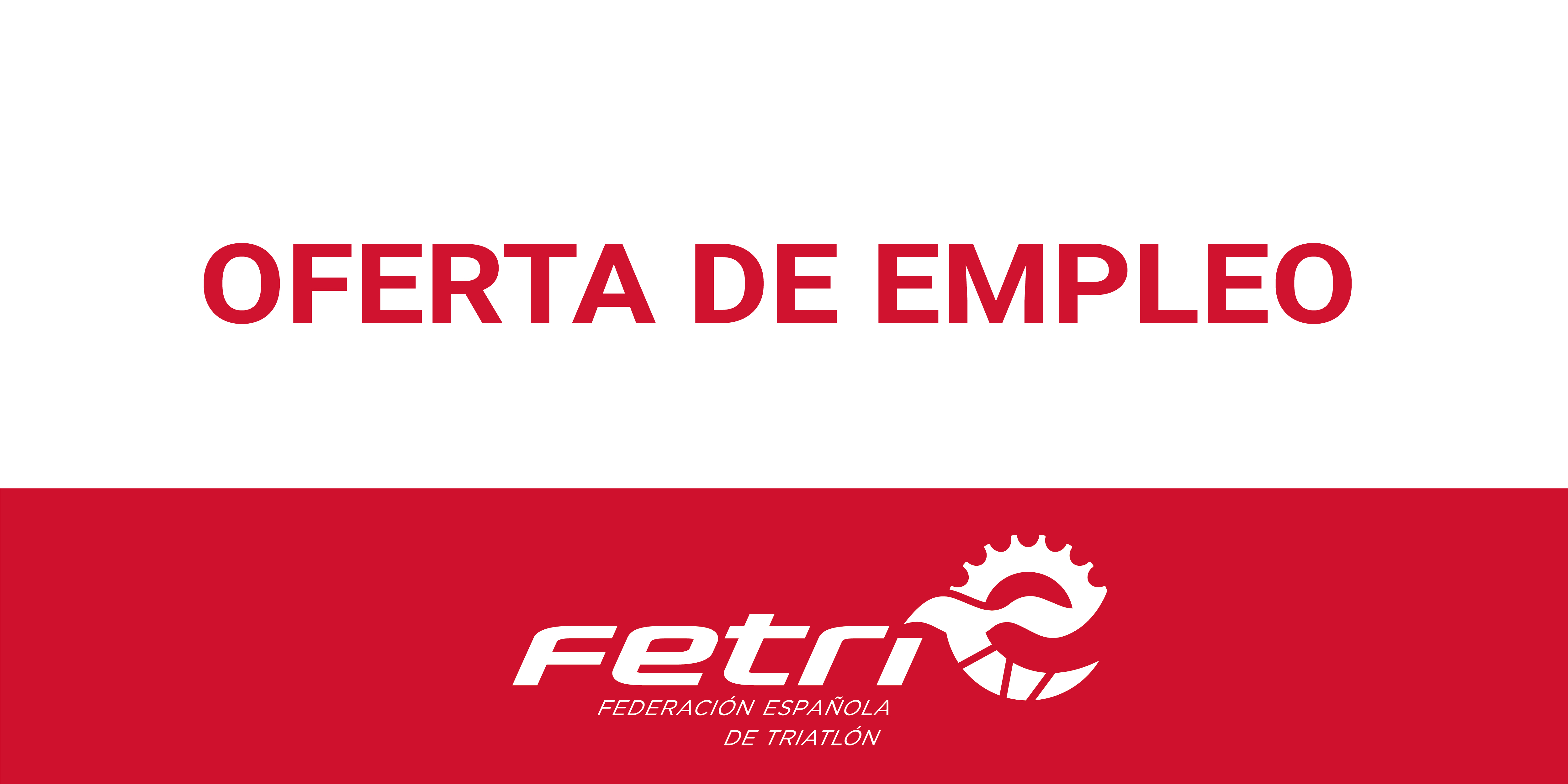 Ampliación de la Oferta de Empleo del Departamento de Competiciones