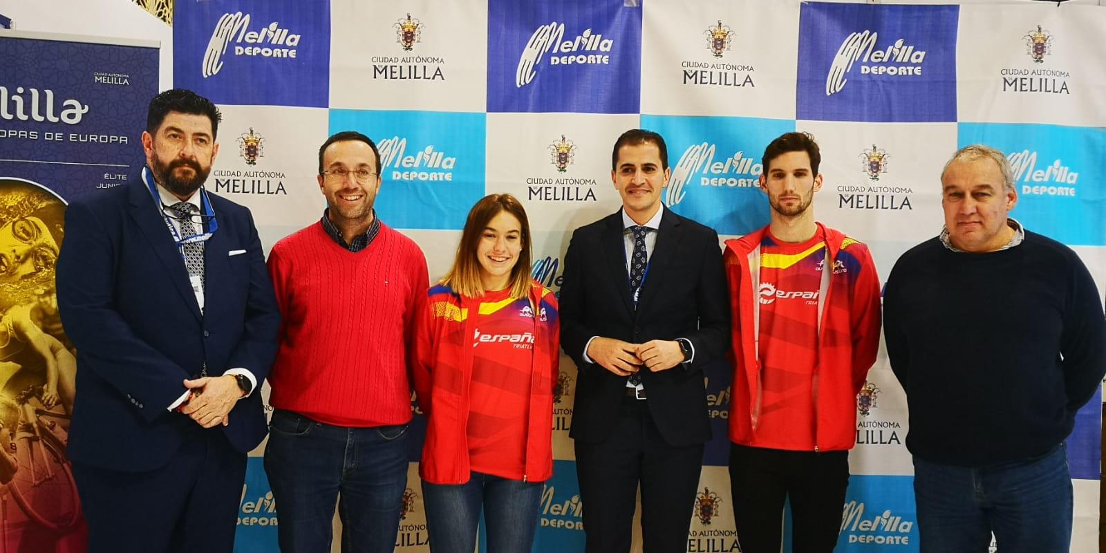 FITUR acoge la presentación de la Copa de Europa de Triatlón de Melilla