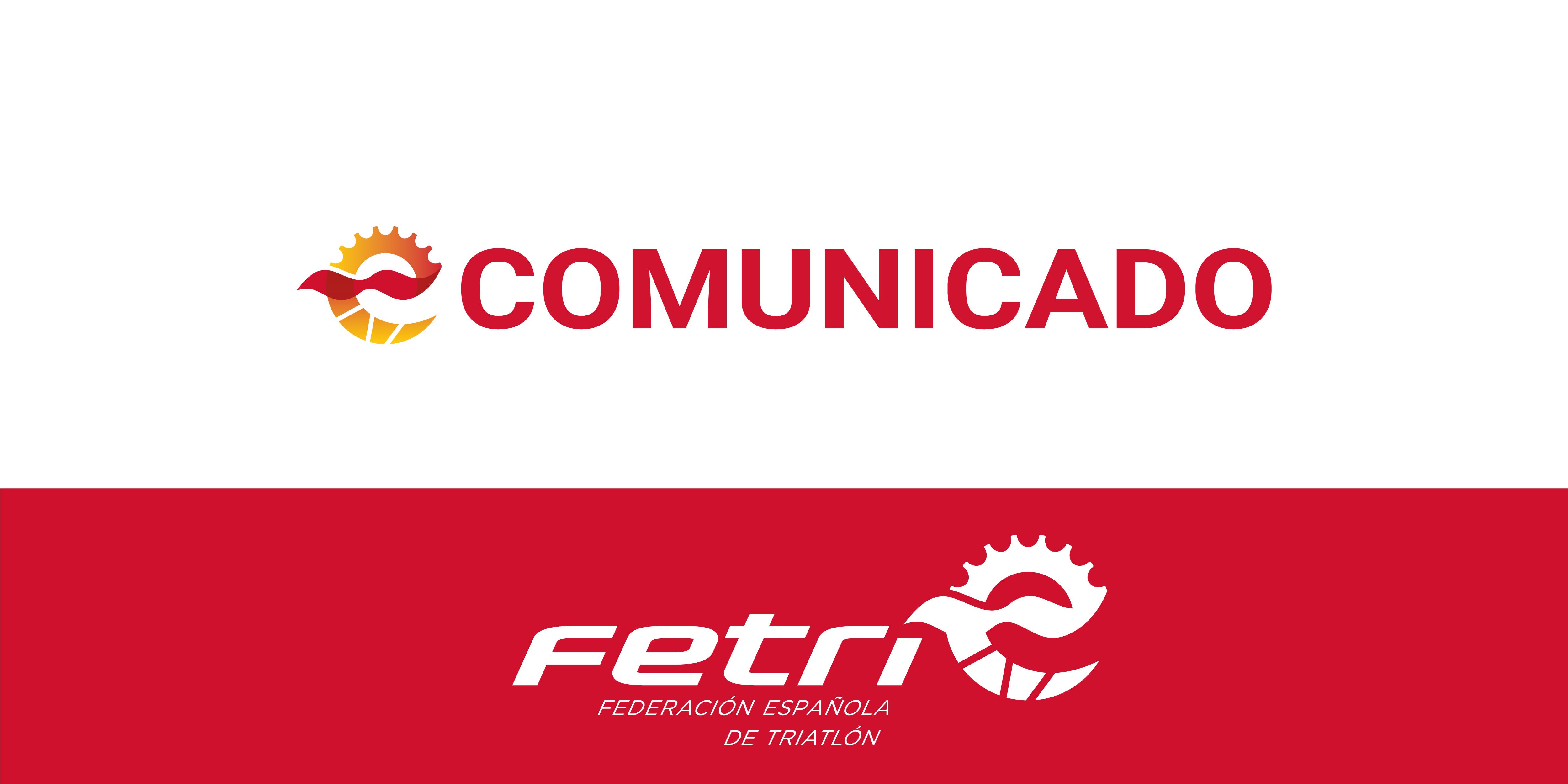COMUNICADO OFICIAL – Aplazamientos de las competiciones FETRI durante el mes de mayo