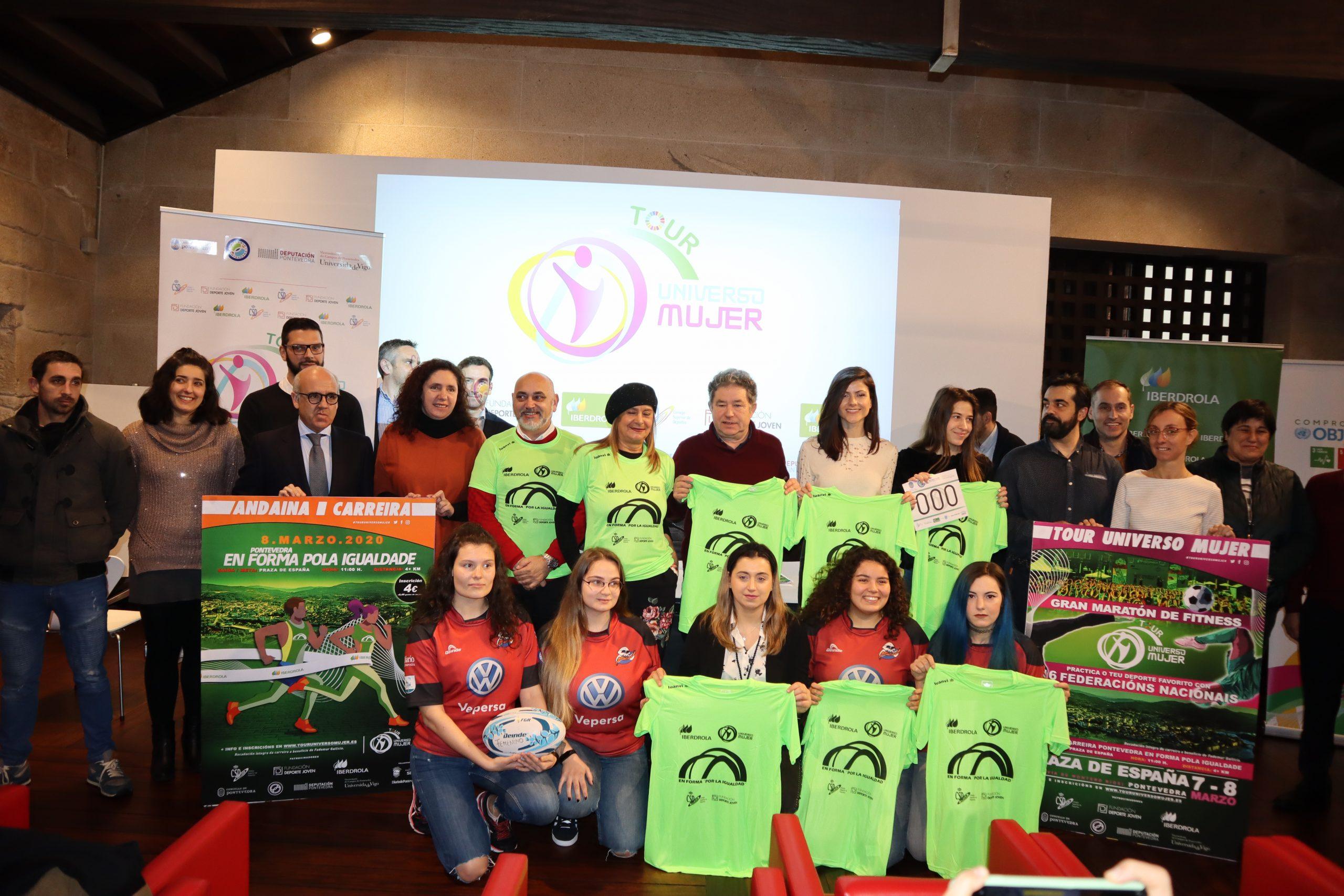 Pontevedra, capital española del deporte femenino de la mano del Tour Universo Mujer