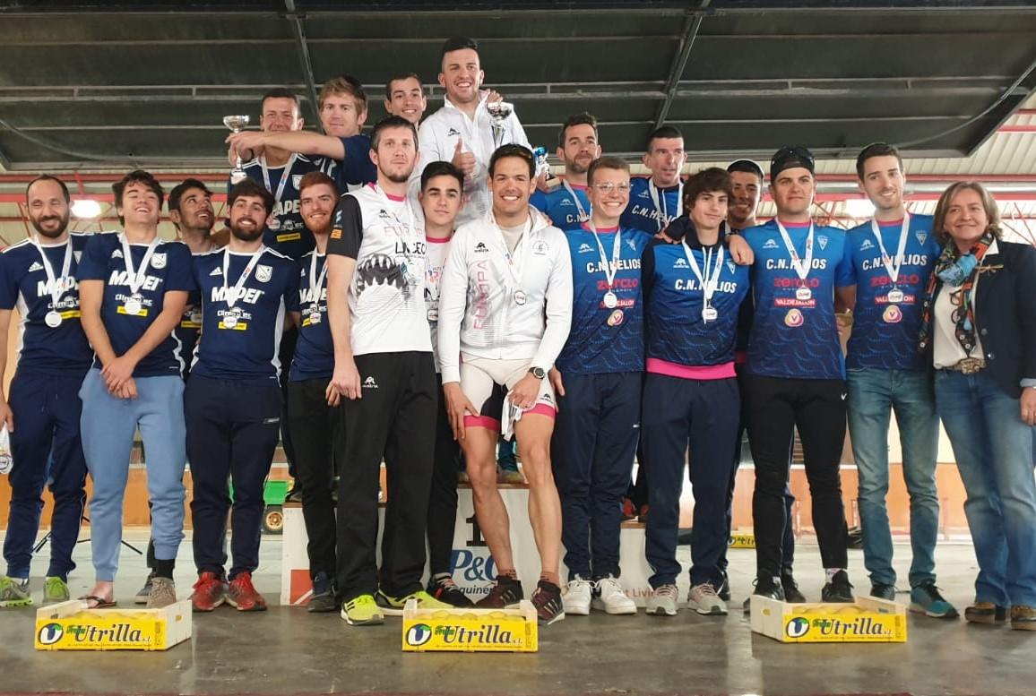El VIII Duatlón Ciudad de Fraga se reinventa en una doble y emocionante competición por equipos en Aragón