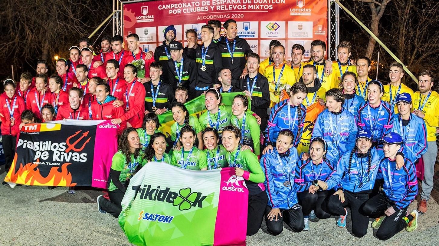 Campeonato de España Duatlón por Clubes Alcobendas 2020 – 1º Jornada Liga Loterías de Duatlón