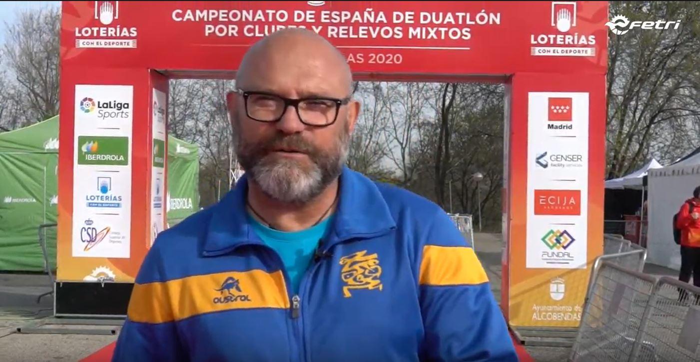 Ángel Aguado #FETRIAlcobendas