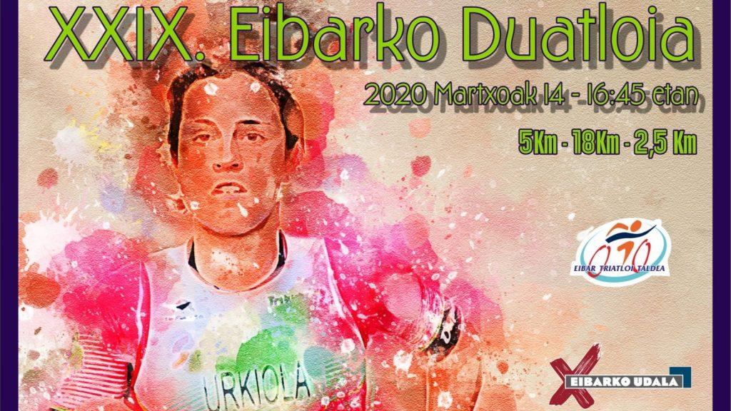 El sábado 14 de marzo se celebra en Eibar el Campeonato de Guipuzcoa de Duatlón en distancia Sprint