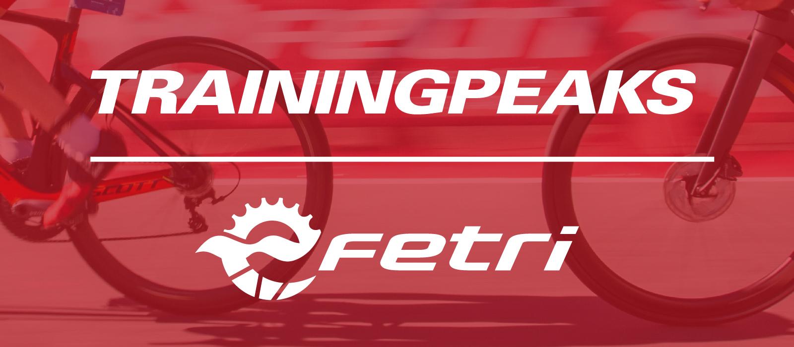 La FETRI anuncia su acuerdo de colaboración con Training Peaks