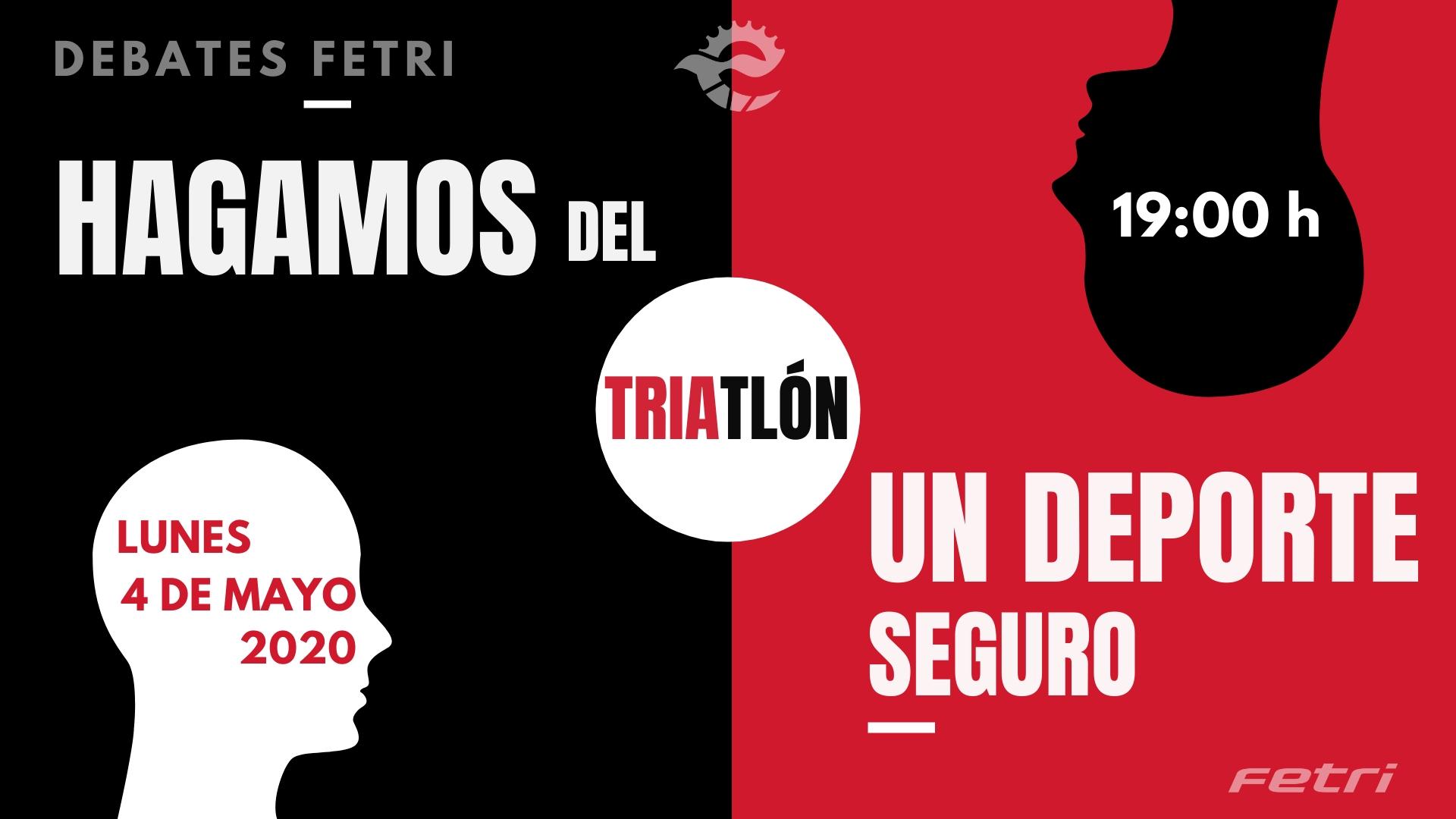 «Hagamos del Triatlón un deporte seguro», presentado el primer Debate – FETRI