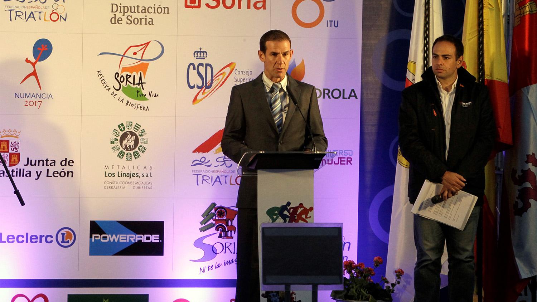 Amancio del Castillo, cuatro años más en la presidencia de la Federación regional de Triatlón de Castilla y León