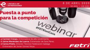II WEBINAR FETRI – Puesta a punto para la competición #FETRIEnCasa