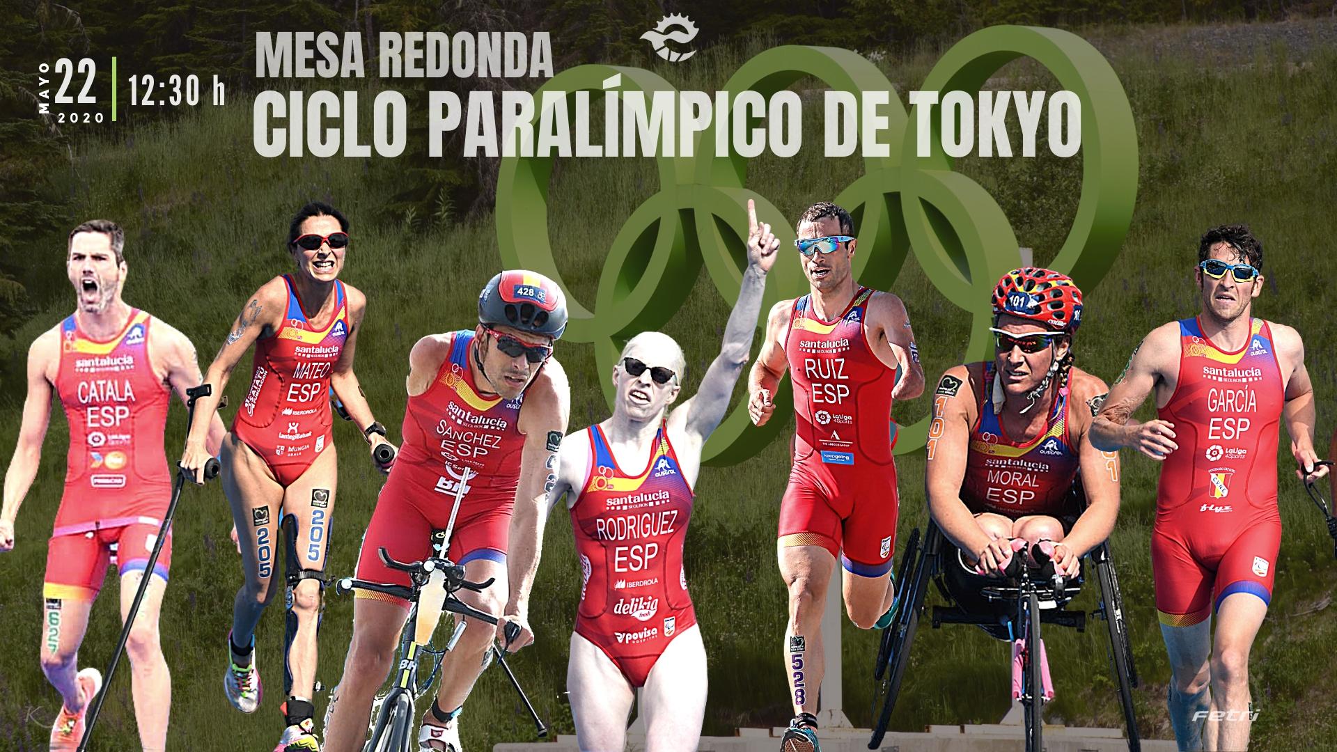 Mesa Redonda #FETRIEnCasa – Ciclo Paralímpico Tokyo
