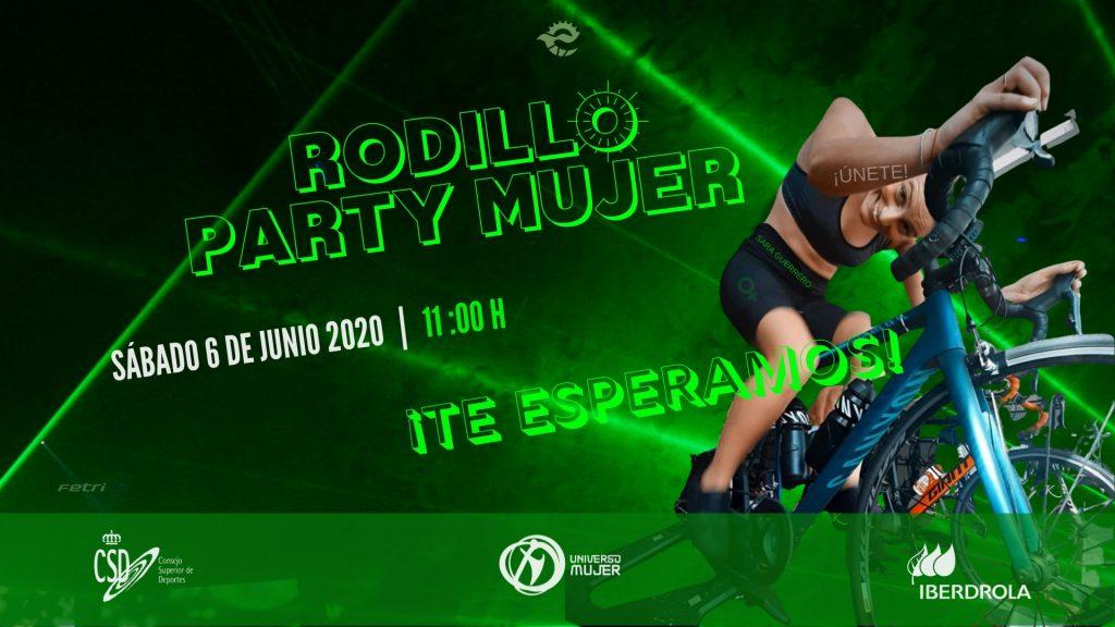 Rodillo Party Mujer, solo para vosotras y con Sara Guerrero