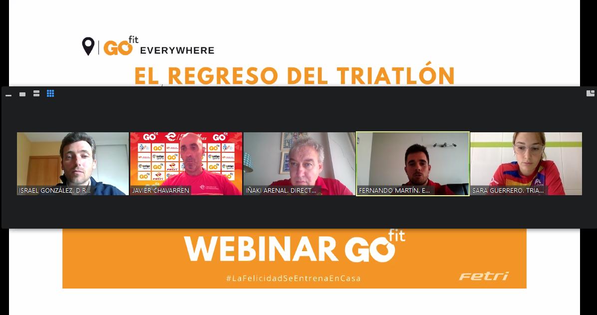El webinar «El regreso del triatlón» analizó el retorno a las actividades desde varios puntos de vista