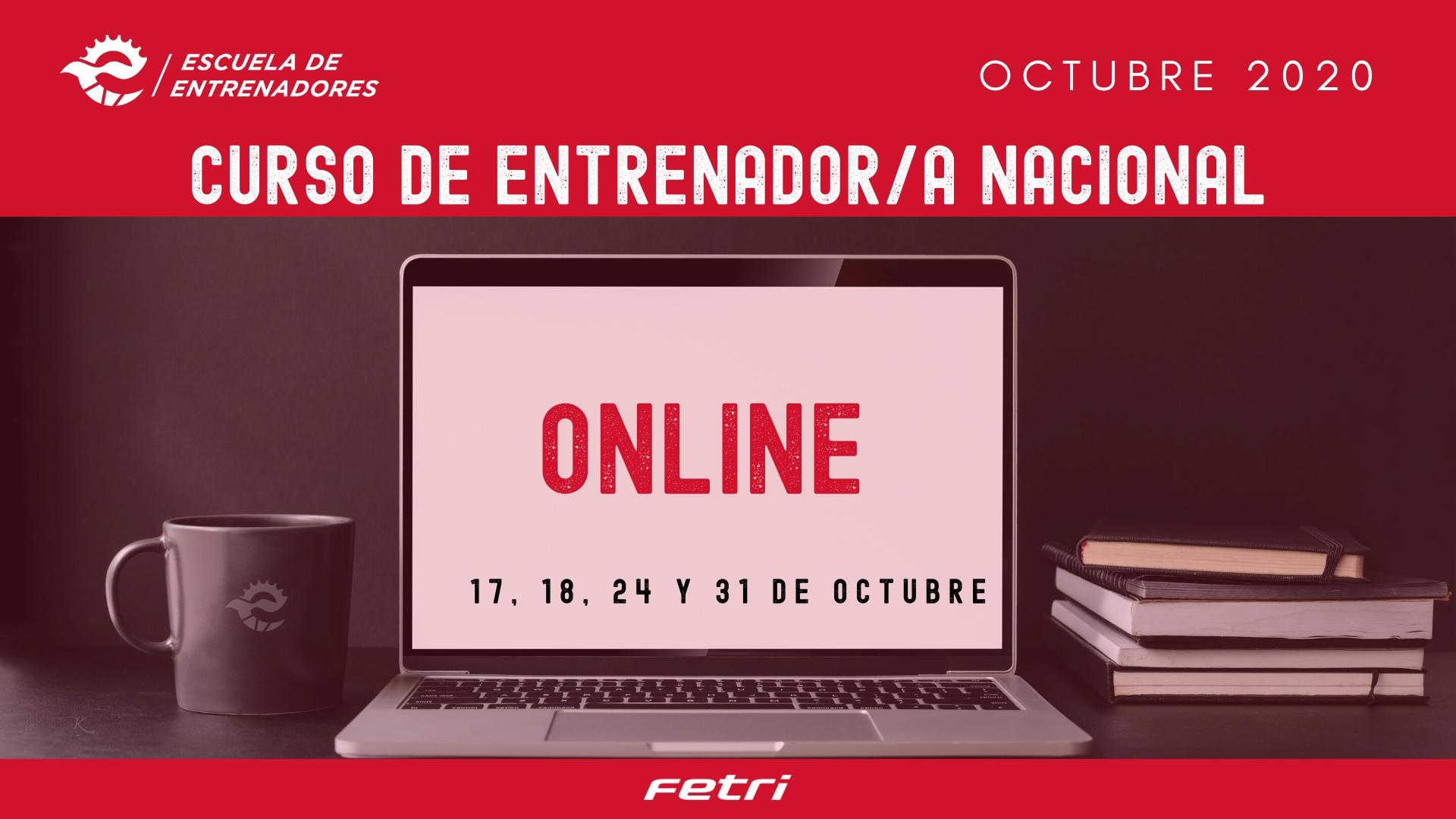 Convocatoria para el Curso on line de Entrenador Nacional de Triatlón del mes de octubre