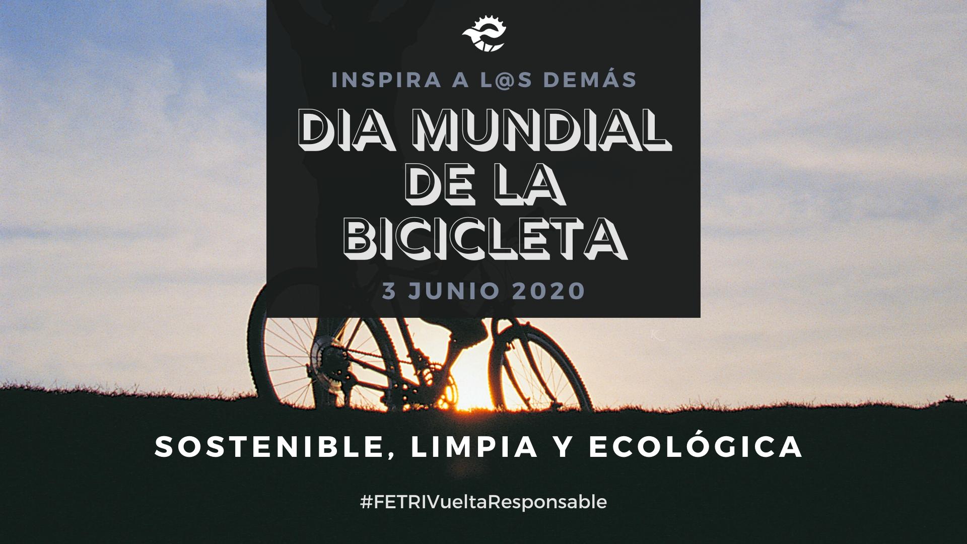La FETRI se suma al Día Mundial de la Bicicleta