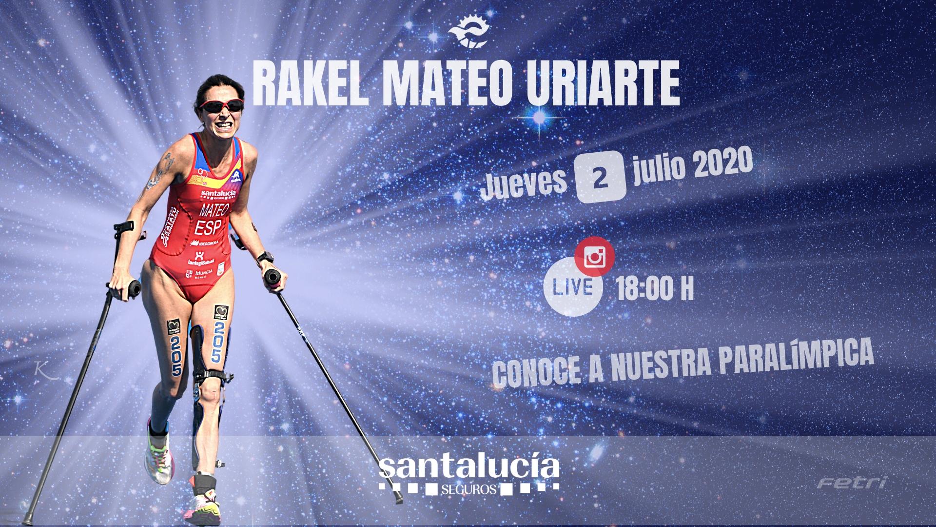 Rakel Mateo, integrante de la #ParaTriarmada, será la protagonista del XI Instagram Live de la FETRI
