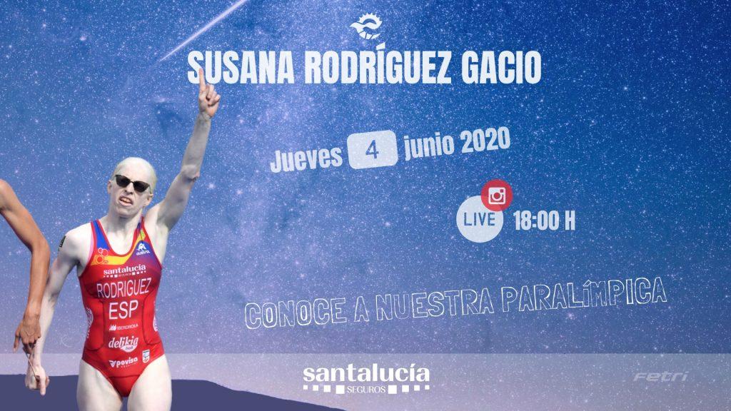 Susana Rodríguez, protagonista esta semana del Instagram Live #FETRIVueltaResponsable