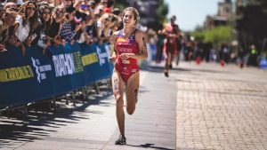 Cecilia Santamaría será la triatleta becada con la «Betfairxeldeporte»