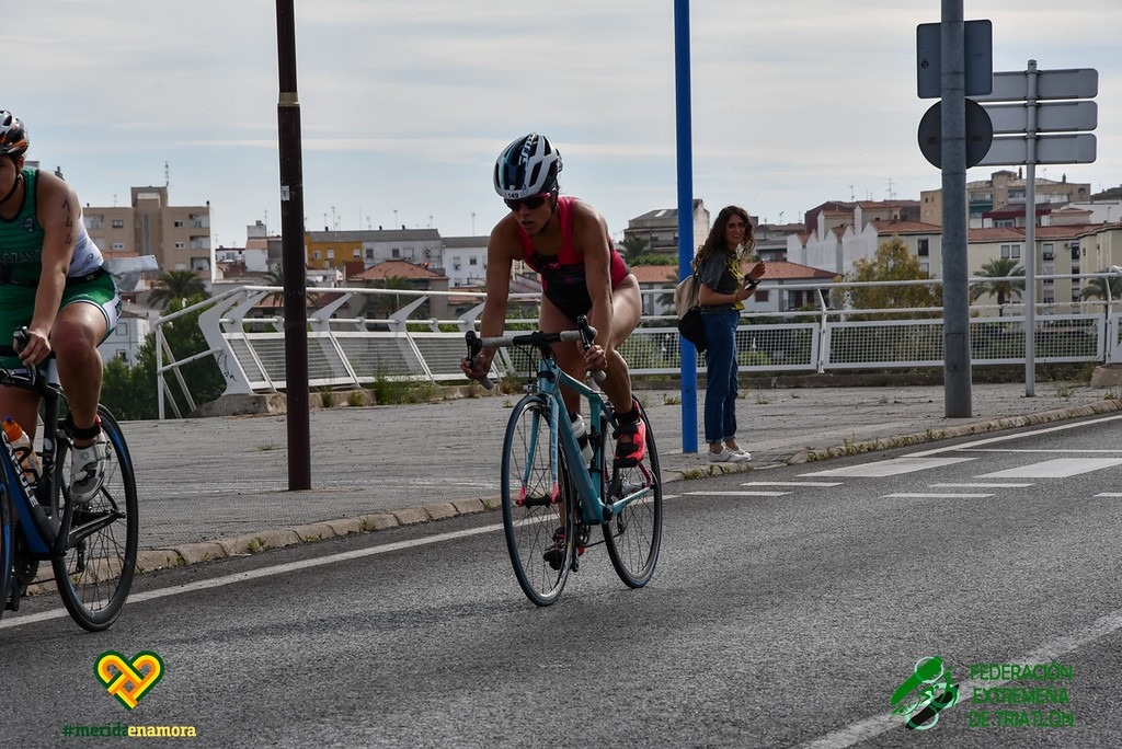 Mérida devolverá las competiciones al triatlón extremeño