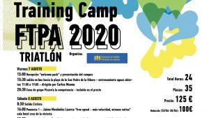 Training Camp FTPA 2020, del 7 al 9 de agosto