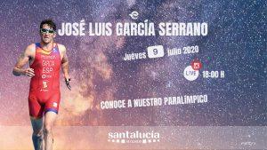 José Luis García, integrante de la #ParaTriarmada, será el protagonista del XII Instagram Live de la FETRI