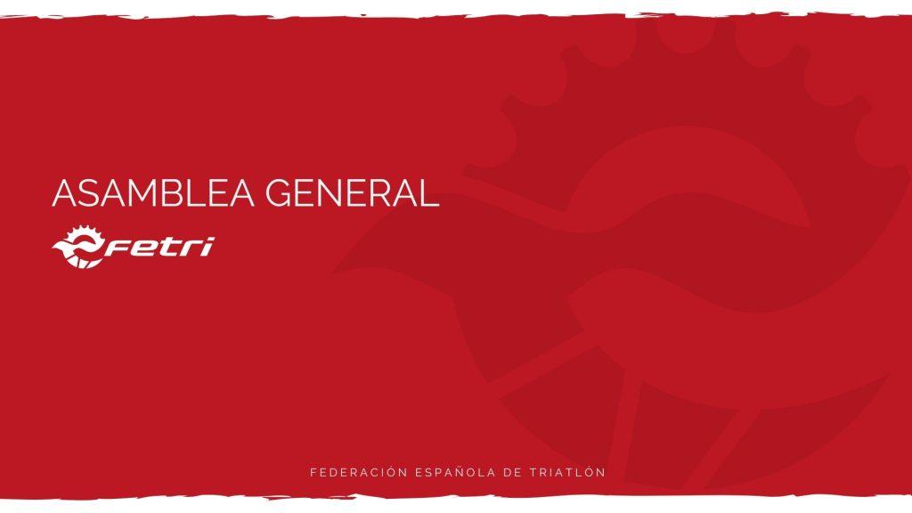 Composición definitiva de la Asamblea General FETRI en el período 2020 a 2024