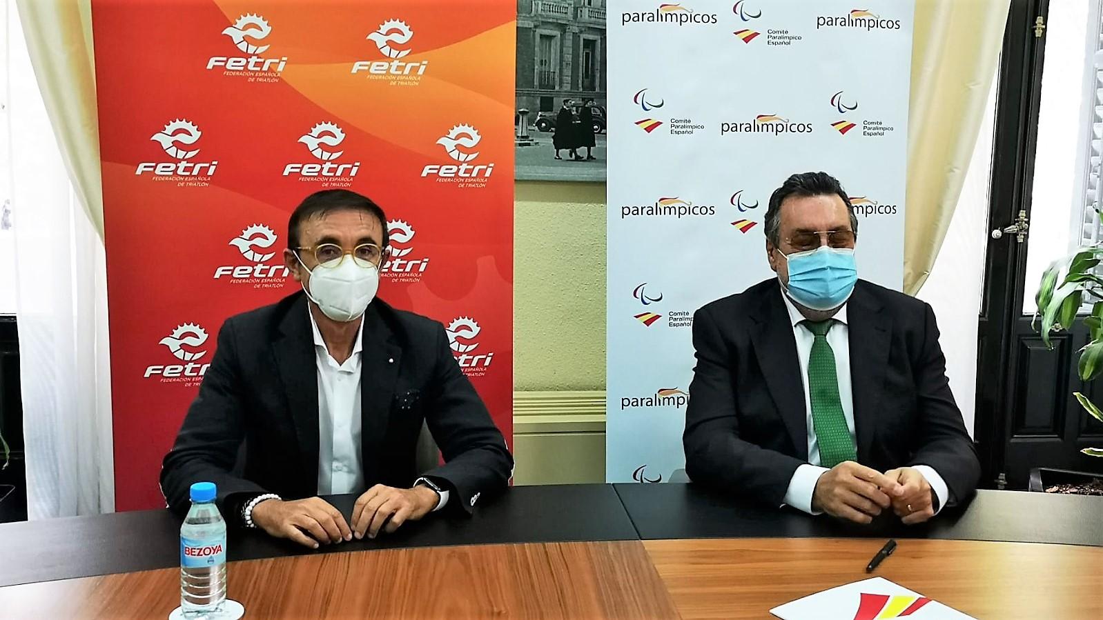 La FETRI y el Comité Paralímpico Español ponen en marcha el equipo de promesas paralímpicas de Triatlón