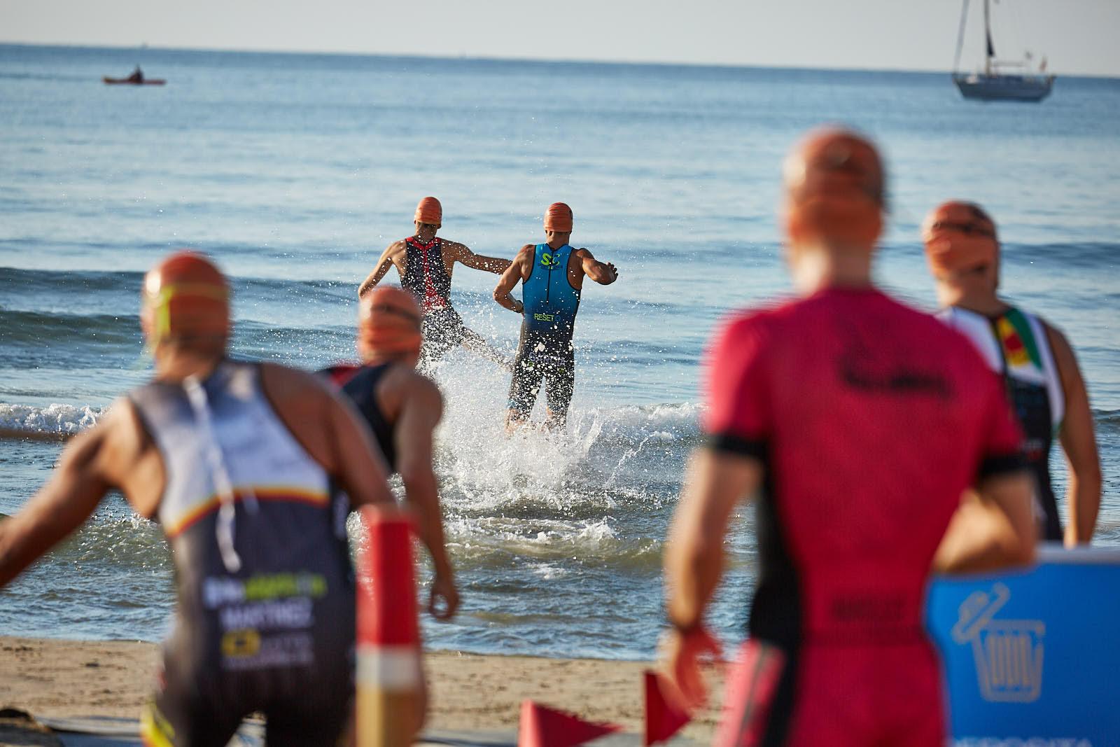 El Triatlón Sprint de Oropesa del Mar 2020 celebró su edición más exigente