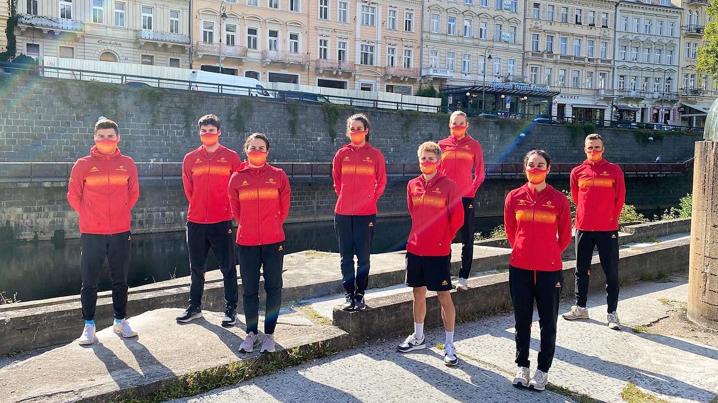 La Triarmada, preparada para la Copa del Mundo de Karlovy Vary