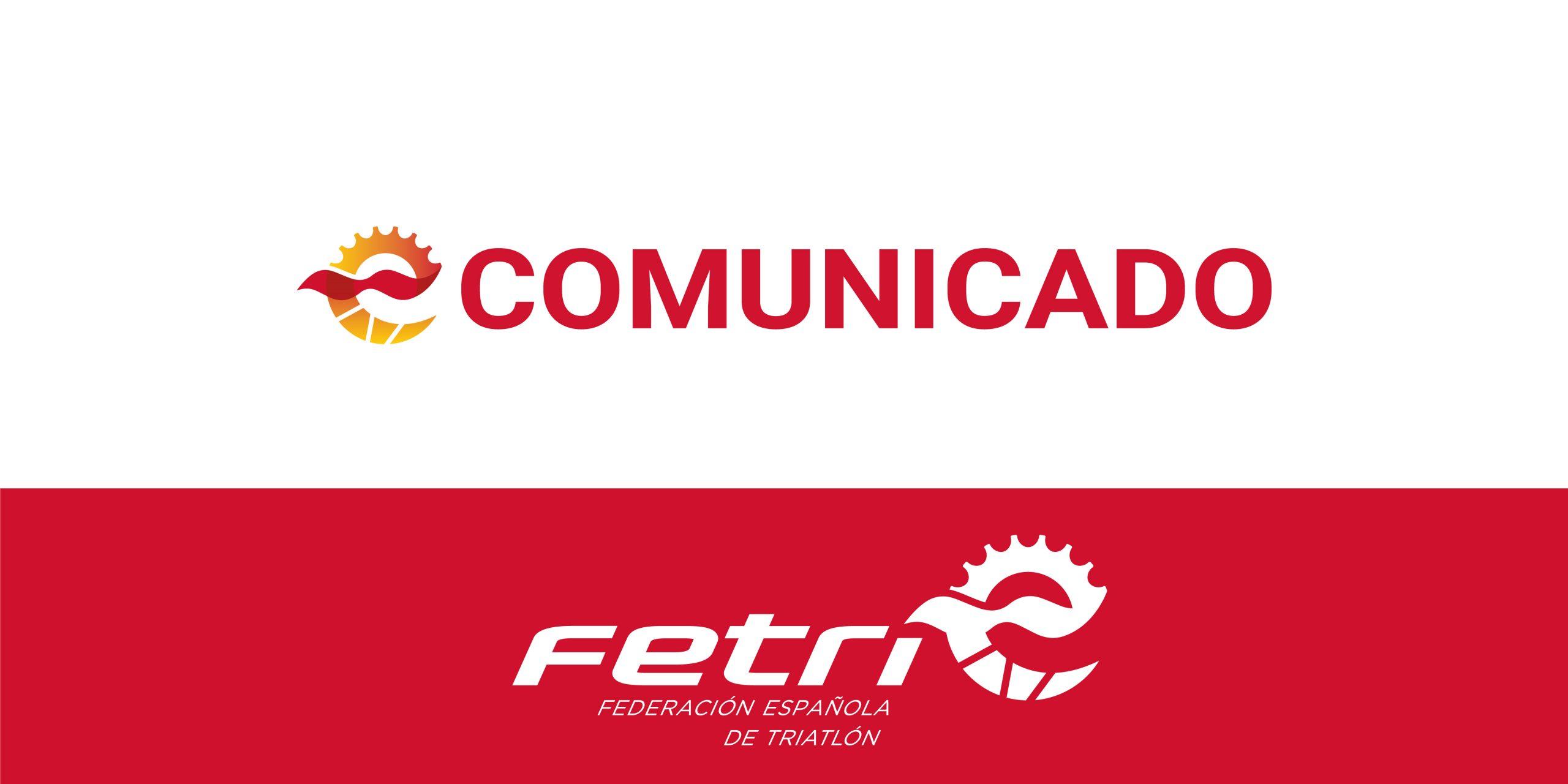 La Copa del Rey Go Fit y de la Reina Iberdrola de Triatlón y el Campeonato de España de Relevos se aplazan