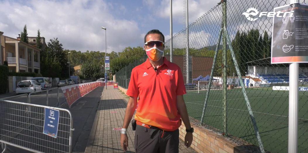 #FETRIBanyoles sede segura Campeonato de España de Triatlón y Copa de Europa Júnior
