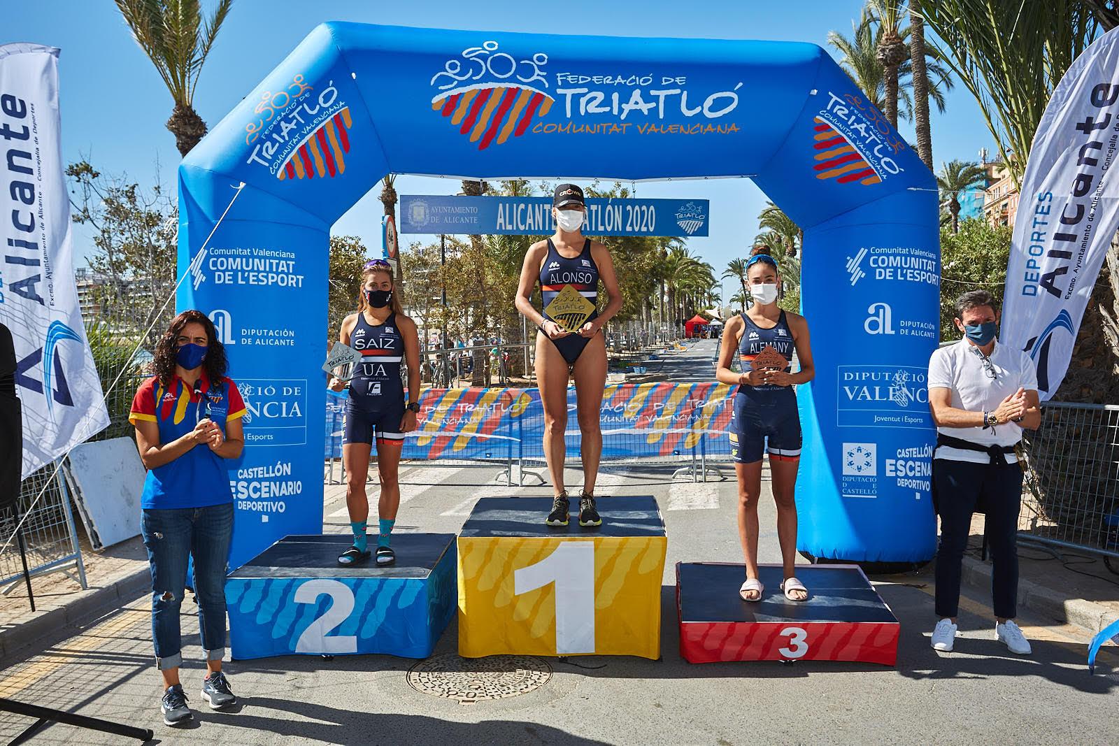 El Campeonato Autonómico de Triatlón Olímpico de la Comunidad Valenciana se queda en Alicante