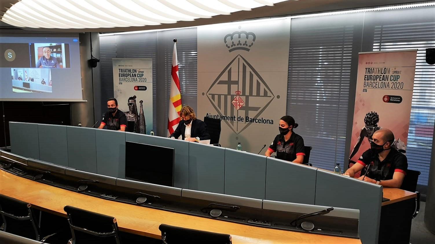 Barcelona apuesta por la seguridad y la sostenibilidad en una Copa de Europa de Triatlón con altísimo nivel