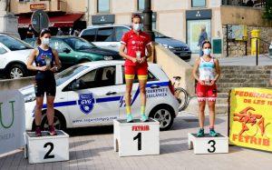 Xisca Tous y Carlos Oliver campeones de Duatlón 2020 en Baleares