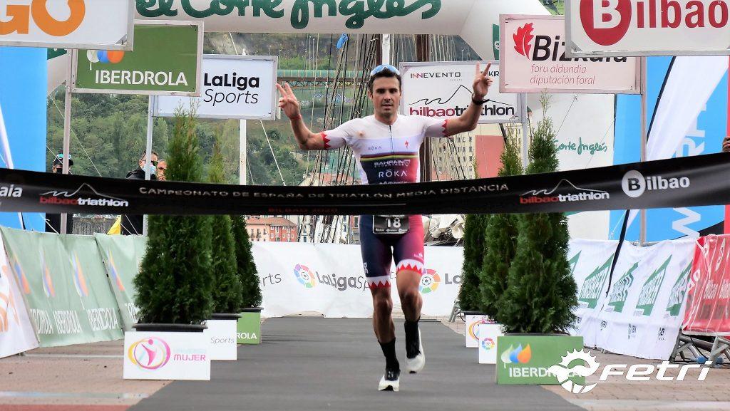 Bilbao Triathlon celebra su décimo aniversario con el segundo campeonato de España de Triatlón MD consecutivo