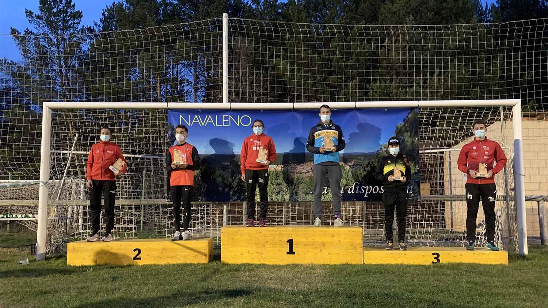 Marina Muñoz y Miguel Risco, primeros campeones regionales de 2021 en Castilla y León