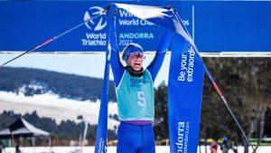 Hans Christian Tungesvik y Sandra Mairhofer nuevos Campeones del Mundo de Invierno de Triatlón en Andorra