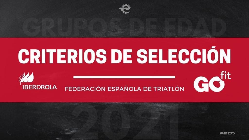 Criterios de clasificación Grupos de Edad para los Campeonatos de Europa en España