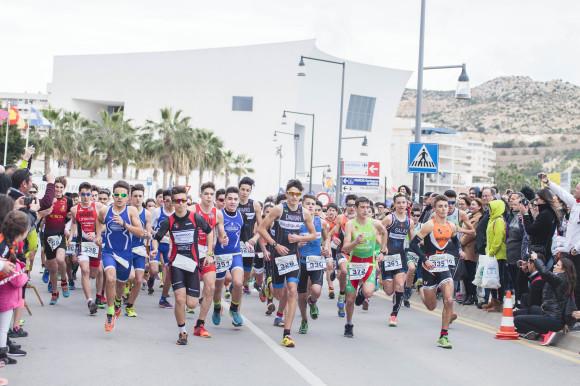 El XXVII Duatón Carnavales de Águilas cierra los clasificatorios para el Campeonato de España de Duatlón