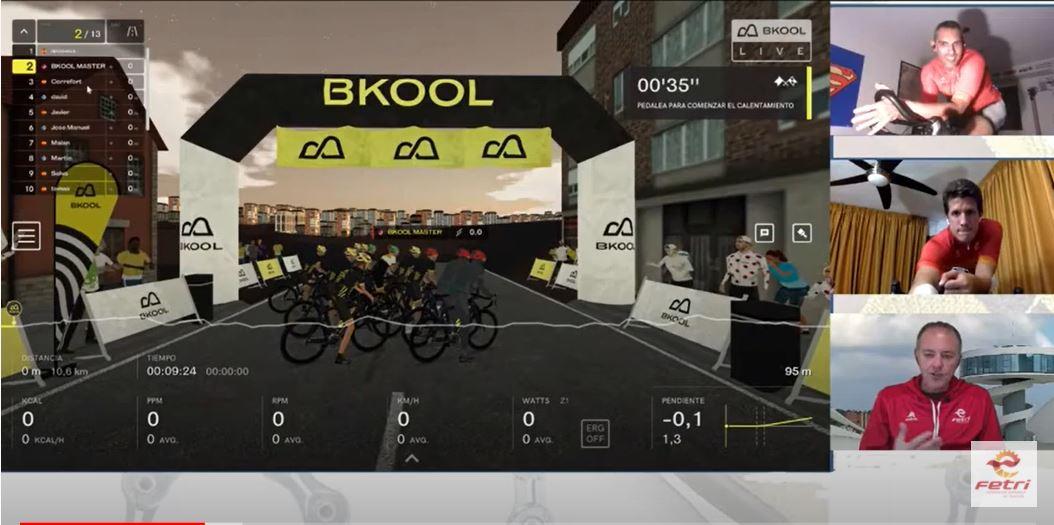 Reconocimiento virtual circuito ciclista #FETRIAvilés 2021
