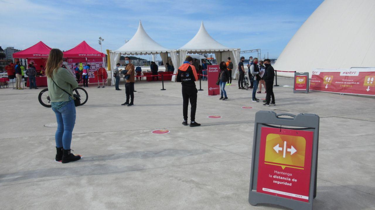 Todo preparado en Avilés para el Campeonato de España de Duatlón 2021