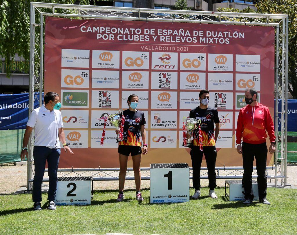 Diablillos de Rivas hace doblete en la Liga Nacional de Clubes de Duatlón ganando también el Campeonato de España de Relevos Mixtos, y Saltoki Trikideak prolonga su dominio en la Liga de Clubes de Talentos de Triatlón