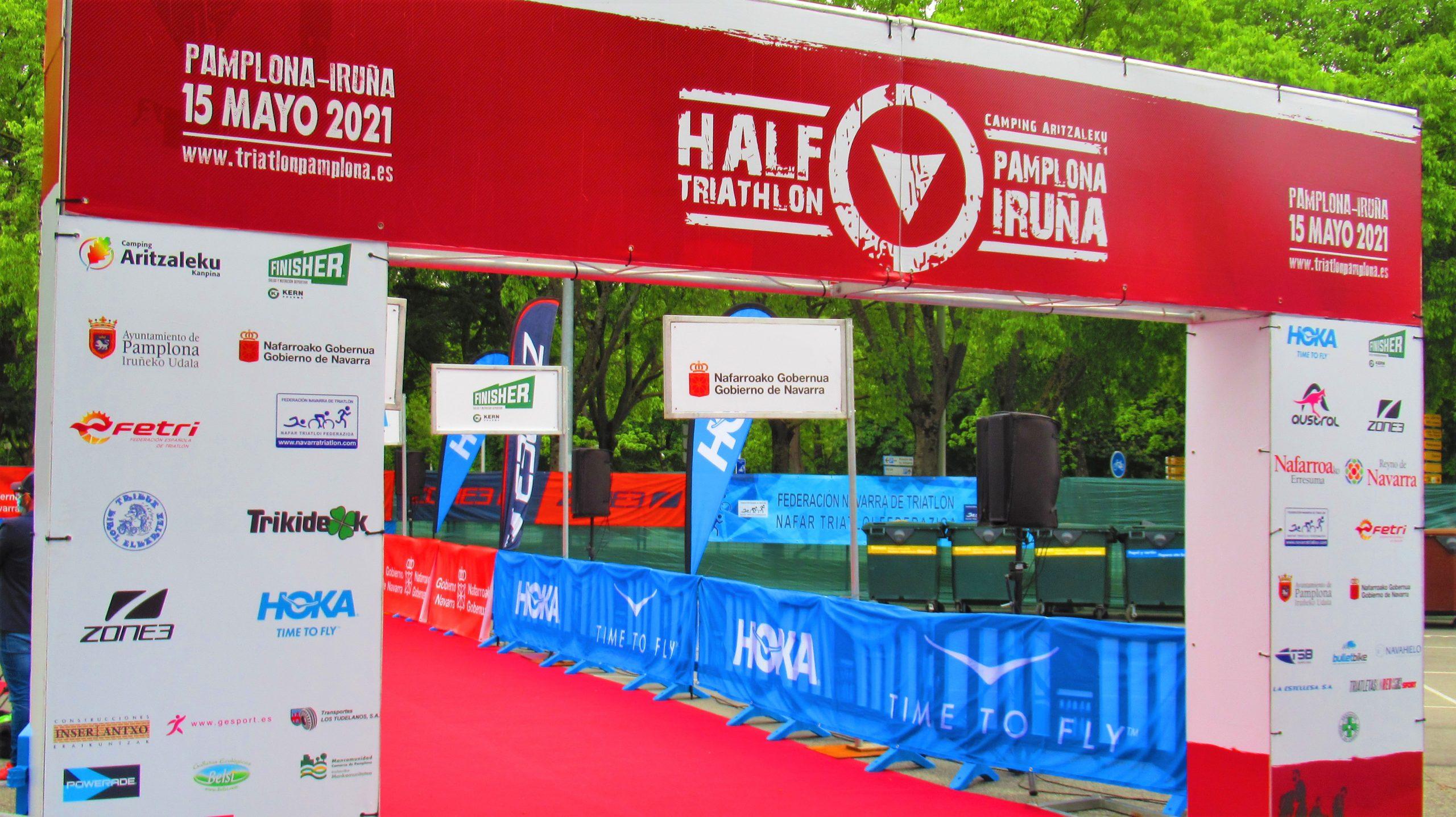 Todo a punto para el regreso del Half Triathlon Pamplona Iruña y comienzo de la Copa de España de Triatlón MD y LD