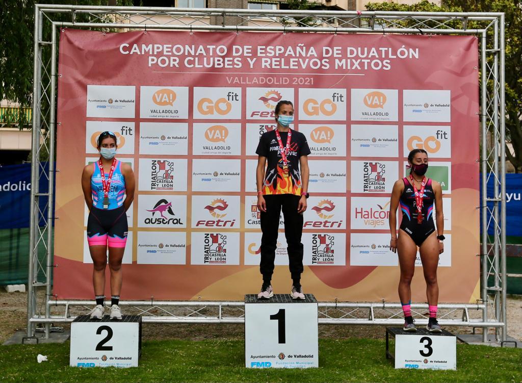 El Campeonato de España de Duatlón por Clubes en Valladolid mantiene abierta la Liga Nacional en Primera Masculina y acerca el título de la femenina