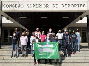 La FETRI y Ironman acuerdan que la GREEN SPORT FLAG ondee en todos sus eventos en España