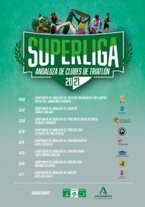 La I Superliga Andaluza de Clubes de Triatlón 2021 será una de las principales novedades del año