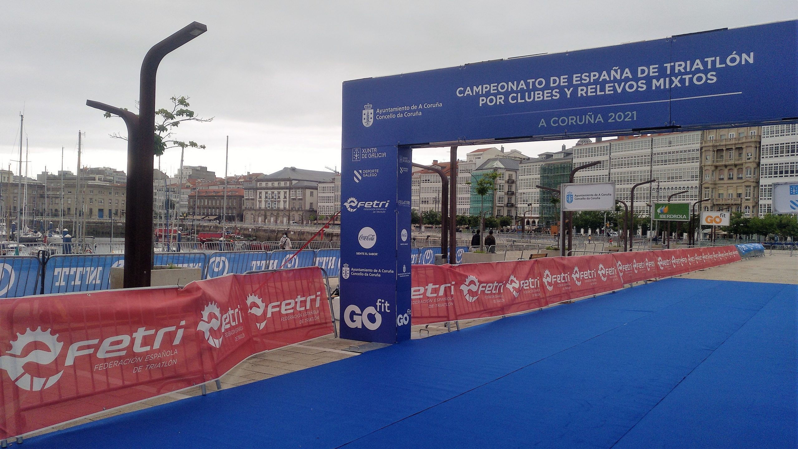 Todo listo en A Coruña para los nacionales de Triatlón por Clubes y Relevos Mixtos y la Copa del Mundo de Paratriatlón